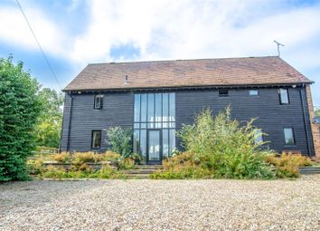 Thumbnail 5 bed equestrian property for sale in Canterbury Road, Elham, Canterbury