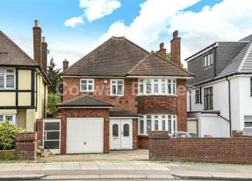 Thumbnail 4 bedroom detached house for sale in Woodcroft Avenue, Mill Hill, London