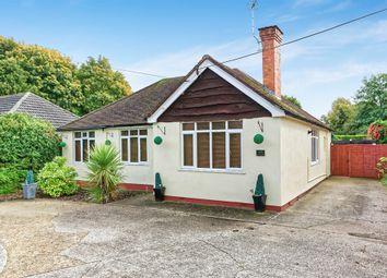 Thumbnail 4 bedroom detached bungalow for sale in Moniton Estate, West Ham Lane, Basingstoke