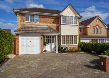 Thumbnail 4 bed detached house for sale in Jackdaw Close, Stevenage