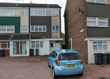 Thumbnail 4 bed end terrace house for sale in Flint Close, Luton, Bedfordshire