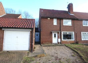 Thumbnail 3 bed semi-detached house for sale in Bewick Crescent, Newton Aycliffe