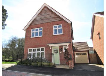 Thumbnail 3 bed detached house for sale in Speedwell Close, Newton Abbot