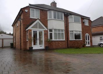 Thumbnail 3 bed semi-detached house for sale in Lindrosa Road, Sutton Coldfield, West Midlands