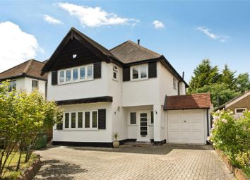 Thumbnail 4 bedroom detached house for sale in Hampton Court Way, Thames Ditton, Surrey
