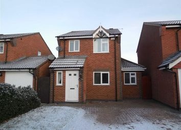 Thumbnail 3 bed detached house to rent in Armada Court, King Georges Way, Hinckley