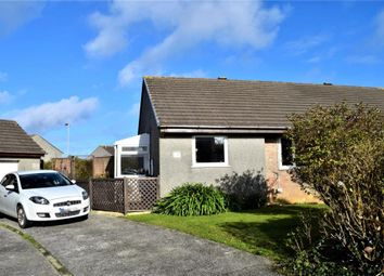 Thumbnail 2 bed semi-detached bungalow for sale in Killiersfield, Pool, Redruth, Cornwall