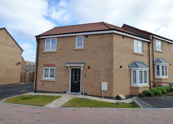 Thumbnail 3 bed semi-detached house for sale in Kilbride Way, Orton Northgate