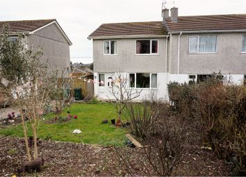 Thumbnail 3 bed semi-detached house for sale in Laura Drive, St. Austell