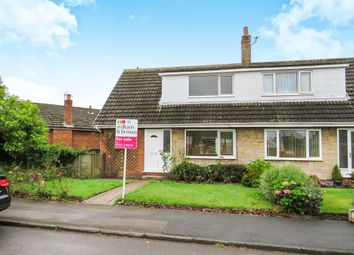 Thumbnail 3 bedroom semi-detached bungalow for sale in Hawthorn Drive, Barlby, Selby