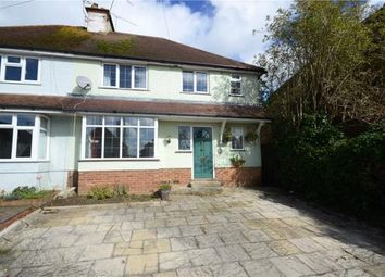 Thumbnail 4 bed semi-detached house for sale in Tor Road, Farnham, Surrey