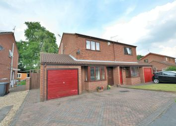 Thumbnail 3 bed semi-detached house for sale in Teesdale Close, Lincoln