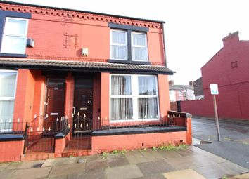 Thumbnail 3 bed end terrace house for sale in Litherland Road, Bootle