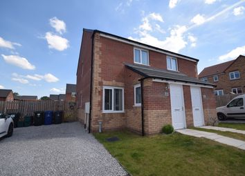 Thumbnail 2 bed semi-detached house for sale in Sidings Drive, Doncaster