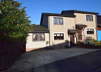Thumbnail 4 bed semi-detached house for sale in Roger Quin Gardens, Galashiels
