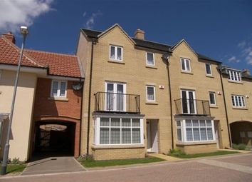 Thumbnail 4 bed town house to rent in Gateway Gardens, Ely