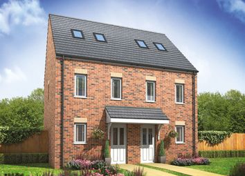 "Thumbnail 3 bed semi-detached house for sale in ""The Moseley"" at Arcaro Road, Andover"