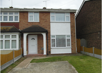 Thumbnail 3 bed end terrace house to rent in Eastways, Canvey Island