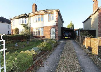 Thumbnail 3 bed semi-detached house for sale in Helpston Road, Glinton, Peterborough
