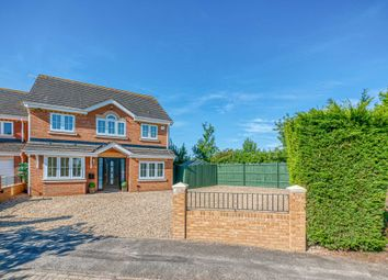 Thumbnail 4 bed detached house for sale in Frithwood Crescent, Kents Hill, Milton Keynes