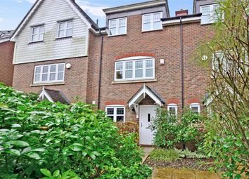 Thumbnail 4 bed town house for sale in Discovery Drive, Kings Hill, West Malling, Kent