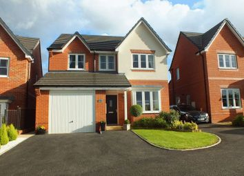 Thumbnail 4 bed detached house for sale in Fernilee Close, Sandyford, Stoke-On-Trent
