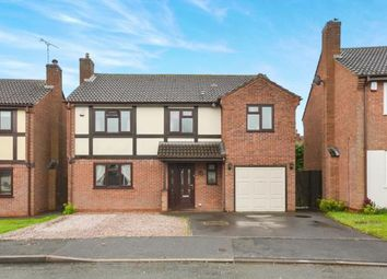Thumbnail 5 bed detached house for sale in Severn Close, Stretton, Burton-On-Trent, Staffordshire