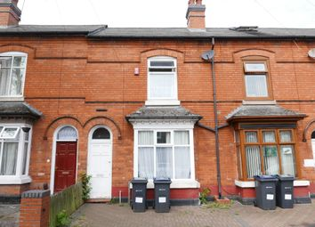 Thumbnail 3 bed terraced house for sale in Cannon Hill Road, Balsall Heath