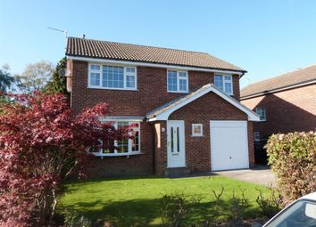 Thumbnail 4 bed detached house to rent in Masham Close, Harrogate