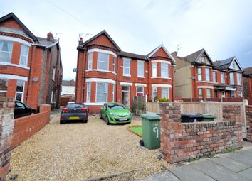 Thumbnail 3 bed flat for sale in Serpentine Road, Wallasey