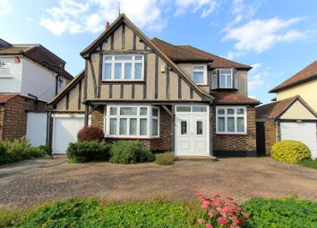 Thumbnail 4 bed detached house for sale in Park Grove, Edgware