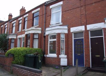 Thumbnail 2 bed terraced house to rent in Huntingdon Road, Earlsdon, Coventry