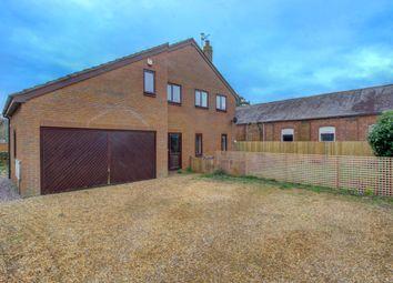 Thumbnail 4 bed detached house for sale in Wicken Road, Deanshanger, Milton Keynes
