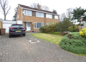Thumbnail Semi-detached house for sale in Bridle Close, Wirral, Merseyside