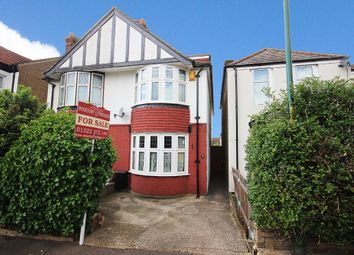 Thumbnail 3 bed semi-detached house for sale in York Road, Dartford, Kent