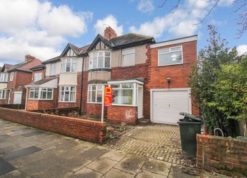 Thumbnail 5 bed semi-detached house to rent in Broadway East, Gosforth, Newcastle Upon Tyne