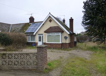 Thumbnail 3 bed semi-detached bungalow for sale in Bygone, Main Road, Fleggburgh, Great Yarmouth