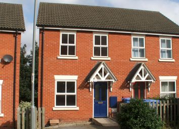 Thumbnail 2 bedroom semi-detached house to rent in Mitre Way, Ipswich