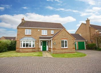 Thumbnail 4 bed detached house for sale in Edwin Close, Cawston, Rugby, Warwickshire