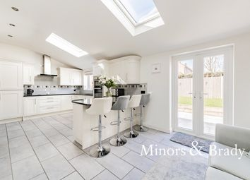 Thumbnail 3 bed detached house for sale in Shakespeare Way, Taverham, Norwich