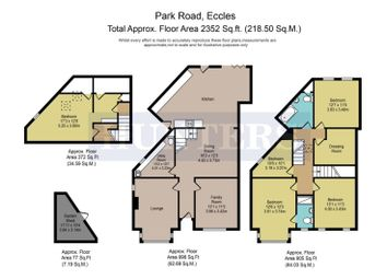 Thumbnail 5 bed semi-detached house for sale in Park Road, Monton, Manchester