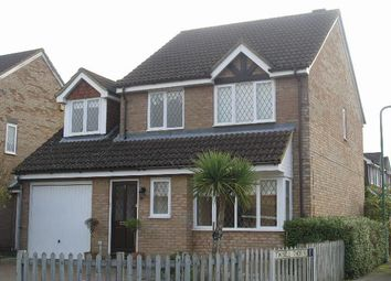 Thumbnail 4 bed detached house to rent in Danvers Drive, Church Crookham, Fleet