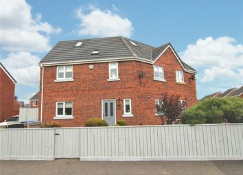 Thumbnail 5 bed semi-detached house for sale in Prince Charles Avenue, Bowburn, Durham