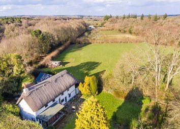 Thumbnail 3 bed cottage for sale in Hillbury Road, Alderholt, Dorset