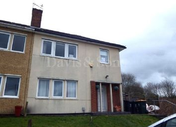 Thumbnail 2 bed semi-detached house for sale in Merlin Crescent, St Julians, Newport.