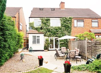 Thumbnail 3 bedroom semi-detached house for sale in Hanbury Road, Chaddesden