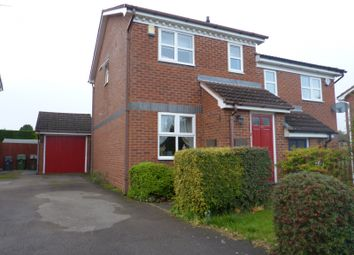 Thumbnail 2 bed semi-detached house to rent in Laburnum Close, Hollywood, Birmingham