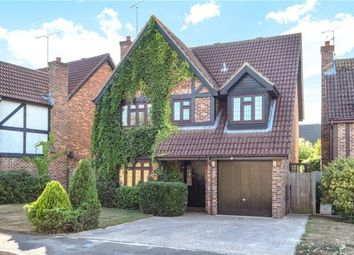 Thumbnail 4 bed detached house for sale in Tiptree Close, Lower Earley, Reading
