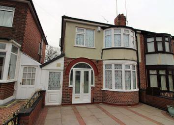 Thumbnail 4 bed semi-detached house for sale in Ridgacre Road, Birmingham