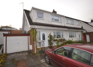 Thumbnail 3 bed semi-detached house for sale in St Ives Road, Moodiesburn